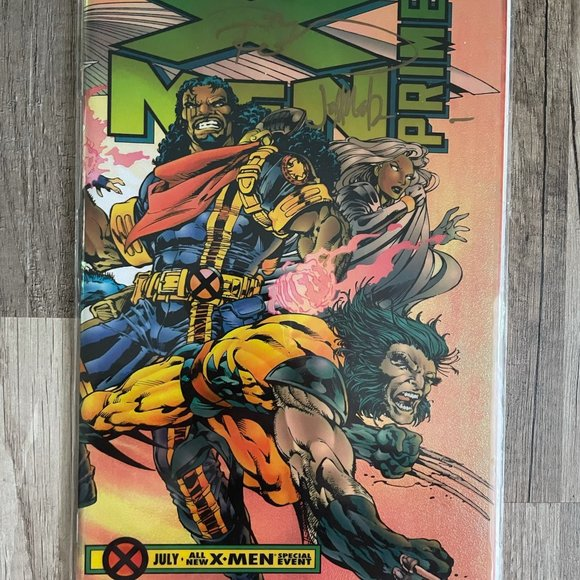 Marvel X-men Prime #1 Signed July 1995 Comic Book
